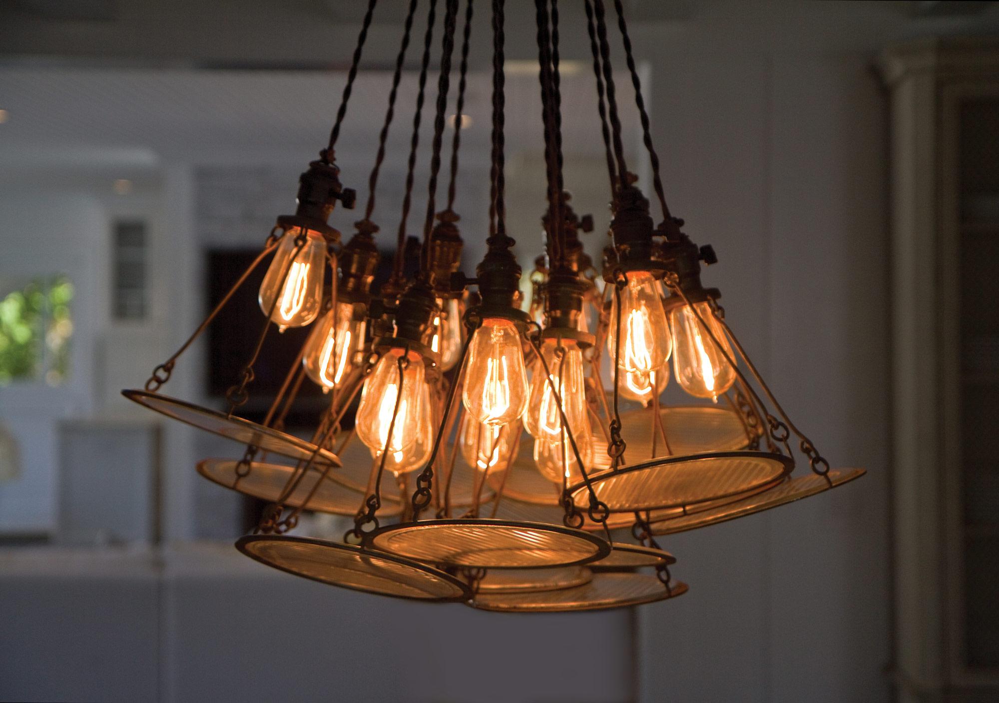 Лампа или люстра своими руками